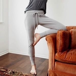 NWT FP Movement Sunny Skinny Sweatpants Grey